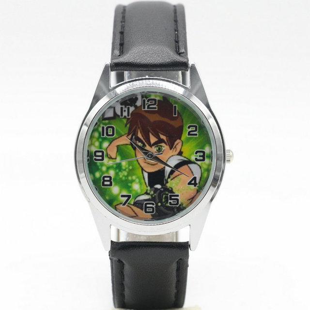 Free Shipping new fashion ben10 Watches Children Kids Boys gift Watch Casual Qua
