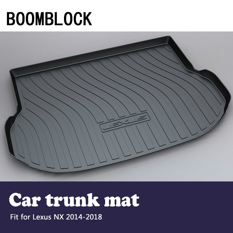 BOOMBLOCK Car Accessories Covers Trunk Mat Cargo Liner For Lexus NX 2018 2017 2016 2015 2014