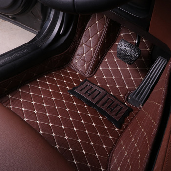 Car floor mats for Lexus J200 LX 570 LX570 RX 200T RX350 RX270 ES250 ES300H ES350 5D car-styling carpet rugs (2008-