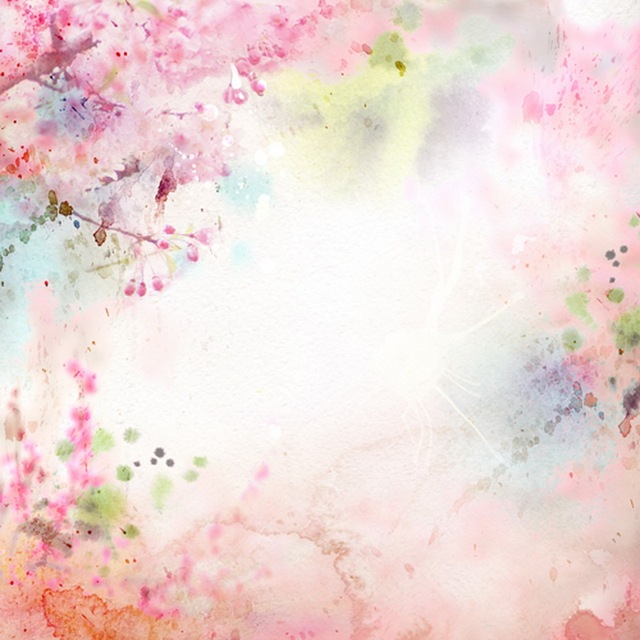 Princess Nail Art Salon Manicure Game For Girls Free: 5x5ft (1.5x1.5)สีชมพูพาสเทลดอกพิมพ์ภาพสตูดิโอฉากหลังแรก