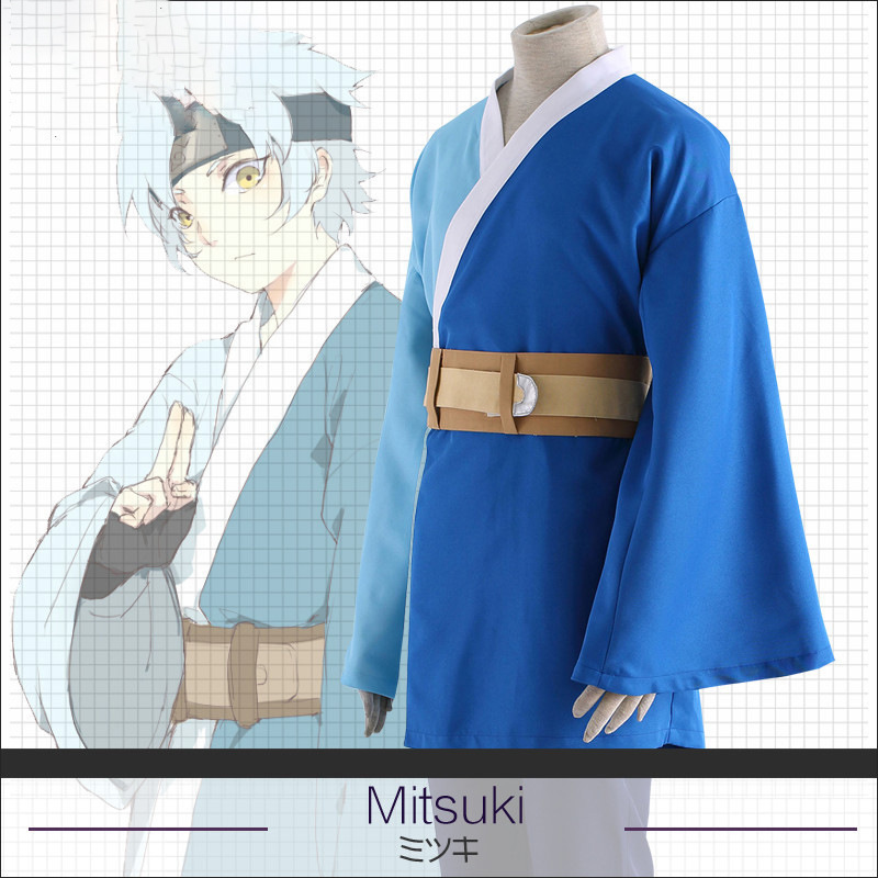 Athemis new NARUTO Cosplay Mitsuki cosplay Costumes BORUTO NARUTO THE MOVIE Kimono Suit For Halloween Coat Pants Headband S