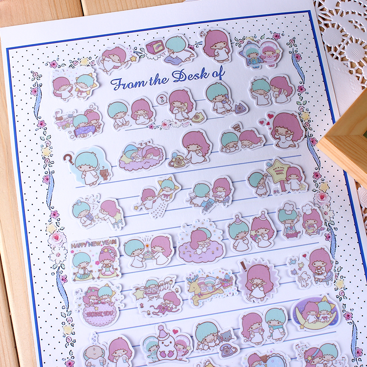 40pcs Creative Cute Self-made  Scrapbooking Stickers Decorative Sticker /DIY Craft Photo Albums