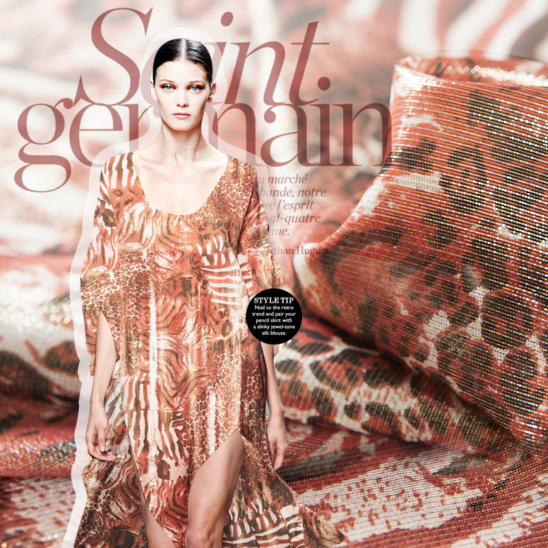 Metallic silk blends fabric,yarn-dyed fabric,printed leopard,zebra pattern,slight sheer,sew for shirt,blouse,dress,craft by yard