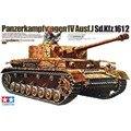 Tamiya 35181 1/35 Panzerkampfwagen IV Ausf J OHS Sd Kfz 161/2 AFV Militar Tanque Assembléia Modelo Kits de Construção
