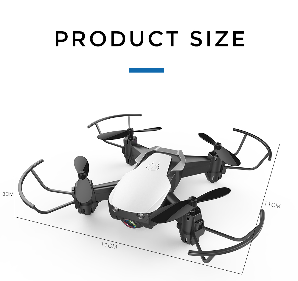 Eachine E61/E61hw Mini Drone With/Without HD Camera Hight Hold Mode RC Quadcopter RTF WiFi FPV Foldable Helicopter VS HS210