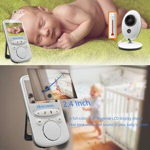 Image 4 - مراقبة الطفل اللاسلكية 2.4 بوصة VB605 الصوت والفيديو المحمولة إنترفون كاميرا لمراقبة الأطفال بابا الإلكترونية مربية لاسلكي تخاطب جليسة الأطفال