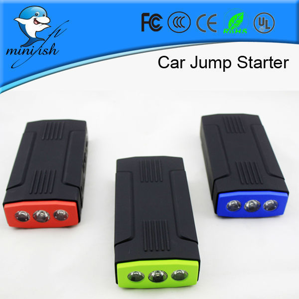 Hot Selling Multi-functional Mini Portable Emergency Car Battery Jump Starter 68000mAh 12V Power Bank