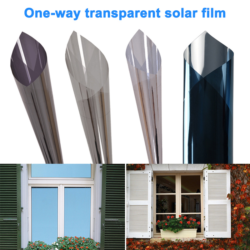 One Way Solar Film Heat Control Anti Uv Window For Home