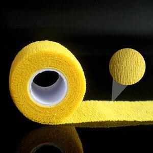 Image 5 - 10Pcs Waterdichte Beveiliging Zelfklevende Samenhangend Verband Elastische Wrap Ehbo Sport Body Gaas Dierenarts Medische Tape