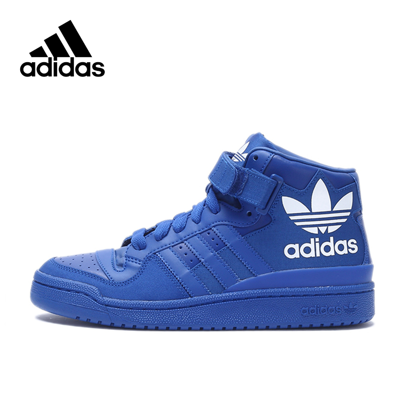 Official New Arrival Adidas Originals Men's High Top Skateboarding Shoes Sneakers Classique Shoes Platform adidas original new arrival official neo women s knitted pants breathable elatstic waist sportswear bs4904