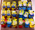 Cartoon 10pcs/lot  hief pat Despicable Me Daddy little yellow slap  watch children watch boys and girls pops circle