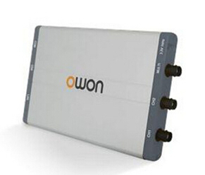 Owon VDS1022 2x 25MHz 100MS/s PC USB Million 1GS Oscilloscope Digital MIT Isolation 2+1 channels Memory depth 5K