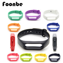 1pcs Candy Color Replacement Band For Miband 2 for Miband Smart Wristband Silicone Strap Belt for Mi Band Bracelet