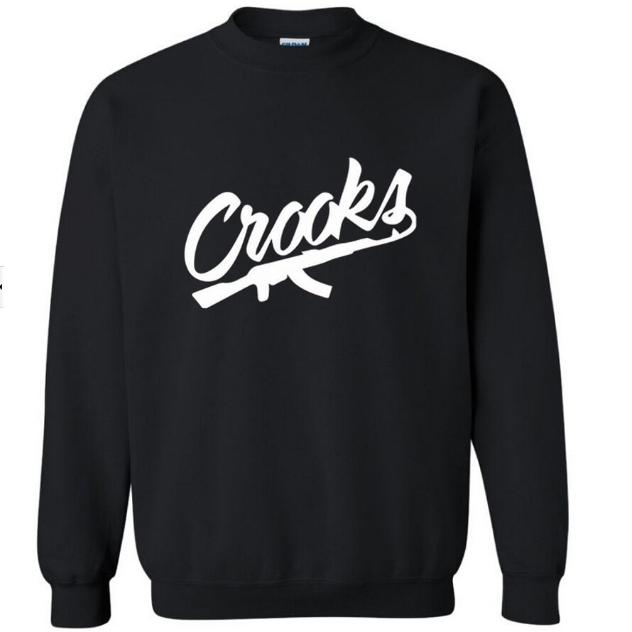 New font b Men s b font Crooks Casles long sleeve T font b shirt b