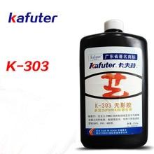 Высокое качество 2 шт 250 г kafuter K-303 УФ клей акриловый прозрачный клей УФ-клей