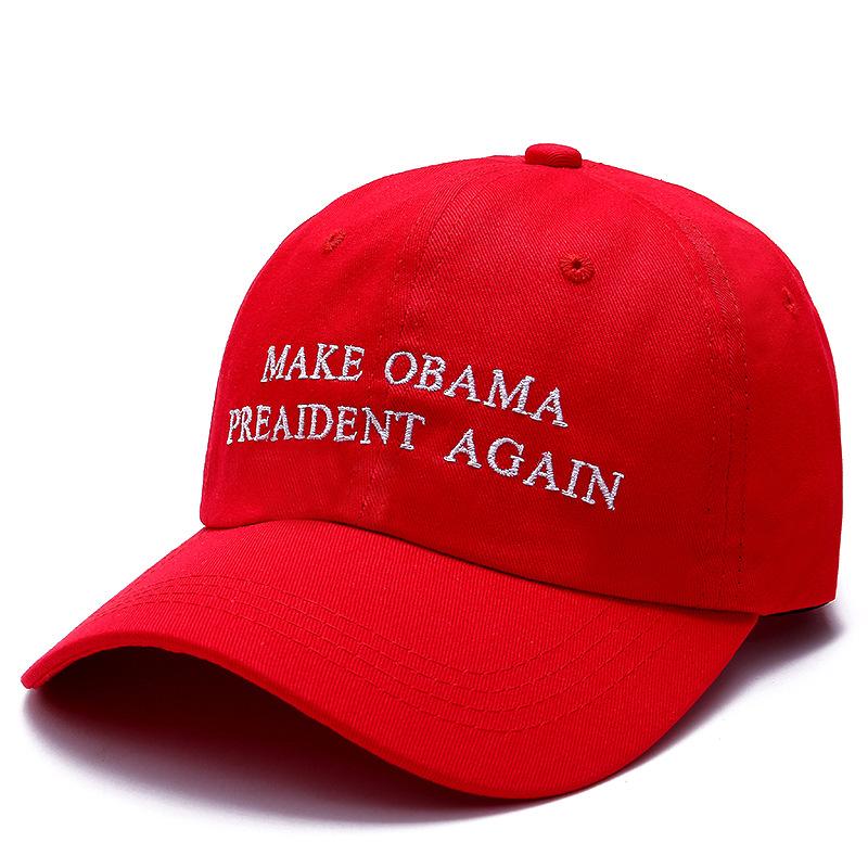 1d00ba9a962 2018 New Make Obama President Again Dad Hat Men Women Cotton ...