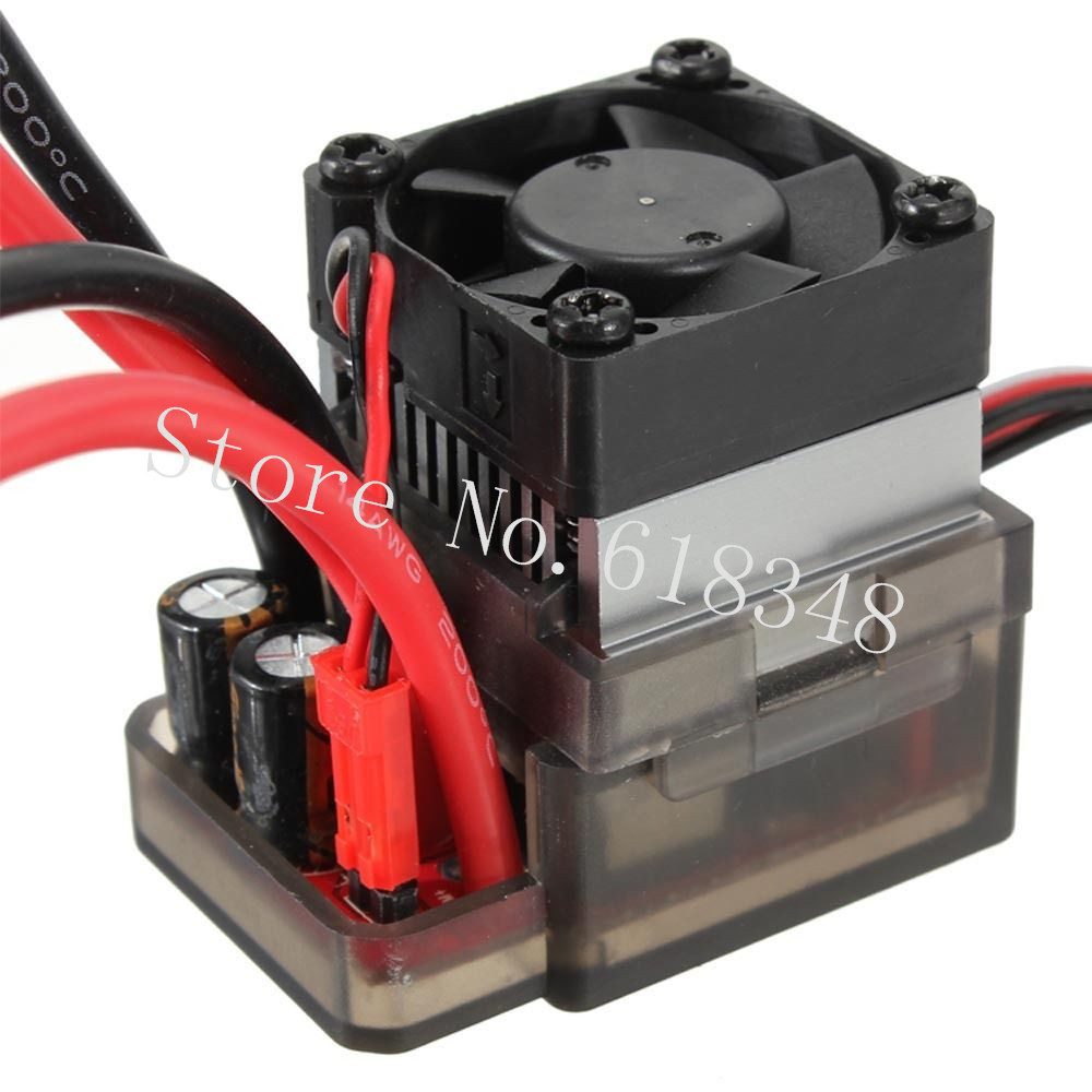 New 320A High Voltage Brush ESC Speed Controller With Reverse Brake for 1 8 1 10