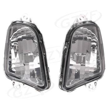 E-Mark Luz de intermitencia delantera indicador lámpara intermitente funda de lentes para HONDA CBR1100XX 1997-2006 repuesto de motocicleta piezas