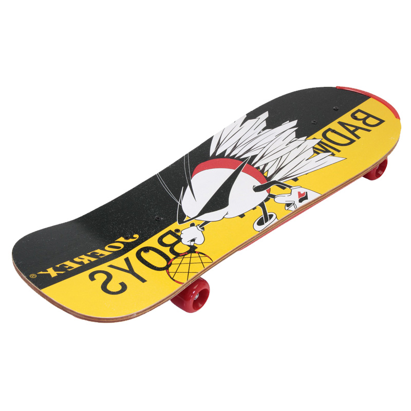 L76.2 * W25.4 * H11CM Professionnel Planche À Roulettes Route Longboard Skate Board Adulte 4 Roues Descente Rue Conseil