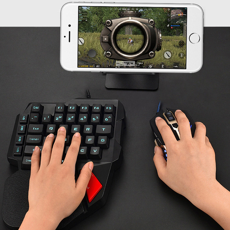 left hand small keyboard gaming keyboard k108 mechanical one handed keyboard for pubg mobile. Black Bedroom Furniture Sets. Home Design Ideas