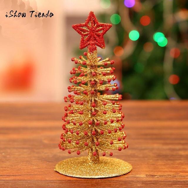 Us 1 22 Artificial Tabletop Mini Christmas Tree Decorations Festival Miniature Xmas Tree Arbol De Navidad Kerstboom Decoratie 2019 In Trees From