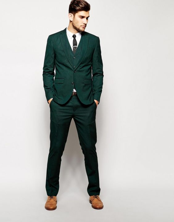 High Quality Men Green Suit Promotion-Shop for High Quality