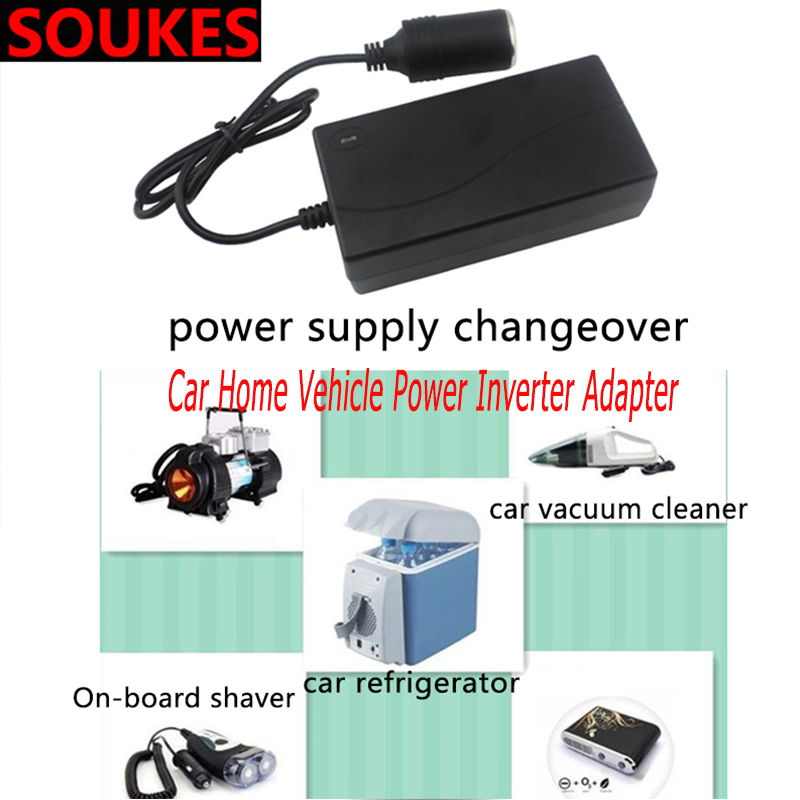 220V 12V Car Vehicle Voltage Converter <font><b>Adapter</b></font> <font><b>For</b></font> <font><b>Audi</b></font> A3 A4 B8 A6 Q5 C7 8v B5 <font><b>Mercedes</b></font> Benz <font><b>W203</b></font> W204 W205 W124 W212 AMG image