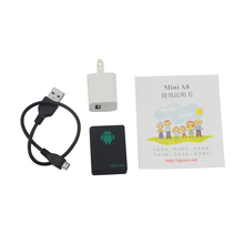 Mini A8 GSM/GPRS/LBS Not Gps Tracker Rastreador Tracker Global Tracking Device With SOS Button For Cars Kids Elder Pets Locator