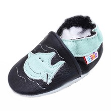 Gsch/детские мокасины с рисунком; обувь для маленьких девочек и мальчиков; мягкие кожаные Тапочки для малышей; обувь для малышей