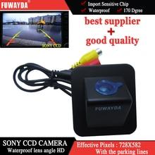 FUWAYDA Filo Sony CCD Parcheggio Auto Retromarcia di Backup Telecamera Posteriore per Hyundai Elantra 2012 ecc di Visione Notturna Impermeabile HD