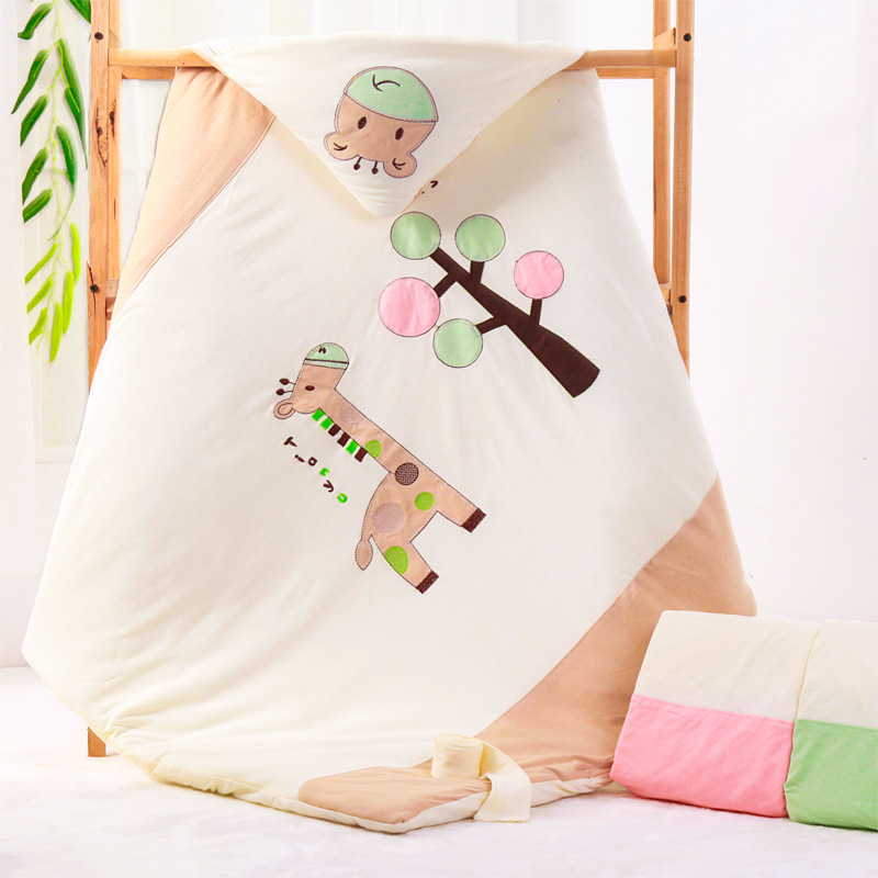 New autumn winter baby pure cotton thickened embrace by newborn wrap baby embrace blanket Soft and comfortable Good qualityNew autumn winter baby pure cotton thickened embrace by newborn wrap baby embrace blanket Soft and comfortable Good quality