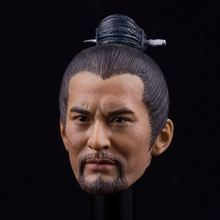 1/6 Scale Yue Fei Headplay Huang Xiao Ming Head Sculpt fit for Phicen DAM HT Body Toy