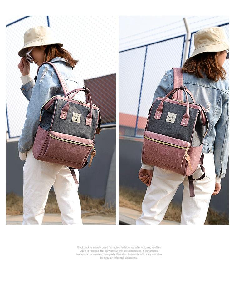 HTB1eRENPFzqK1RjSZFvq6AB7VXaV 2019 Korean Style oxford Backpack Women plecak na laptopa damski mochila para adolescentes school bags for teenage girls