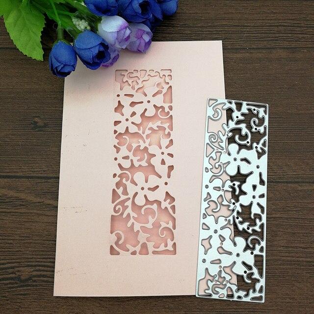 סטנסילים חיתוך מת תחרה כרטיס מתכת דקורטיבי הבלטות DIY רעיונות אלבום תמונות DIY כרטיסי נייר