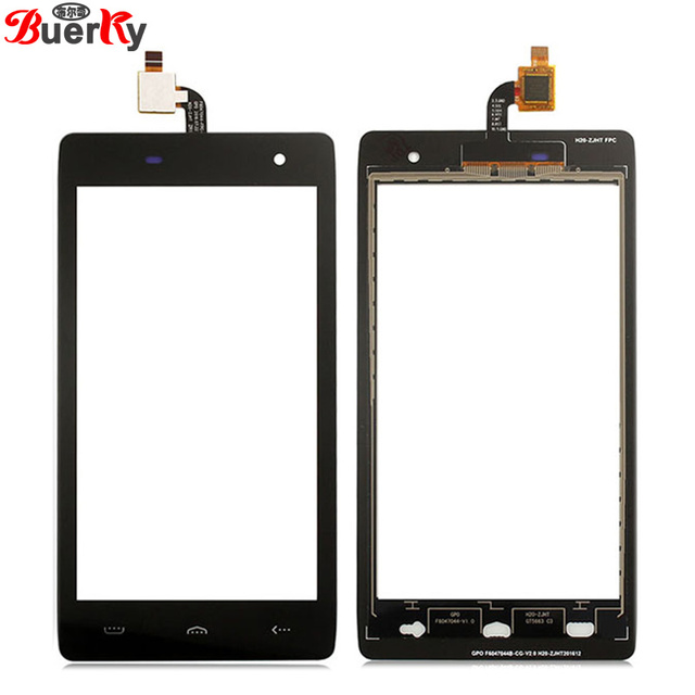 BKparts 100% Tested 5pcs Touch screen For HomTom HT20 Touch panel glass sensor Digitizer Replacement Free shipping