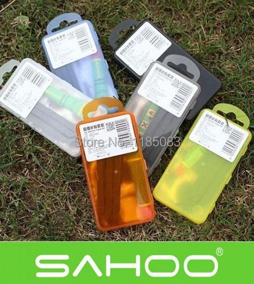 SAHOO Mini Portable Bike Bicycle Repair Tire Tyre Tool Set Kit Rubber Patch Set 6 color