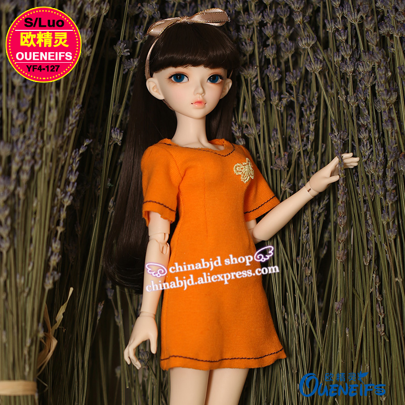 BJD Clothes Fashion Dress High Elastic Knitting Dignified Graceful Doll Skirt For the Minifee Body YF4-127 Doll Accessories 1