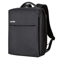 Caden Camera Backpack Multifunction Security Camera Dslr Bag Organizer Rucksack Waterproof With Tripod Holder Rain Cover For L