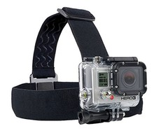 Action Camera Gopro Accessories Headband Chest Head Strap  For Go pro Hero 3 3+ 4 5 SJ4000 SJ5000 Sport Cam Helmet