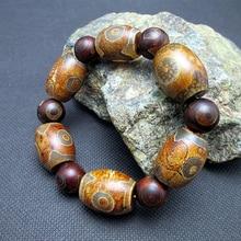 JoursNeige Natural Stone Bracelets Beads Men Bracelet Multi Color Lucky Amulet Stone Bracelet Jewelry
