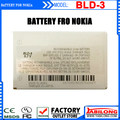 Hot Sale! Low Price BLD-3 Full Capacity 750mAh Mobile Battery for Nokia 3300 7210 3200 6610 2100