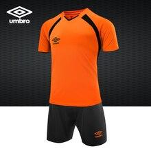 aa63594866c9 Umbro 2018 New Men s Sportswear Football suit Match Dress Soccer Jerseys  UCA63601(China)