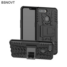 For Oppo Realme 2 Case Silicone Armor Phone Holder Bumper Anti-knock Cover BSNOVT