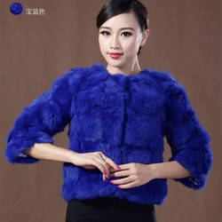 Natural rabbit fur coat 2016 new rabbit fur coat slim short clothing angora rabbit coat free.jpg 250x250