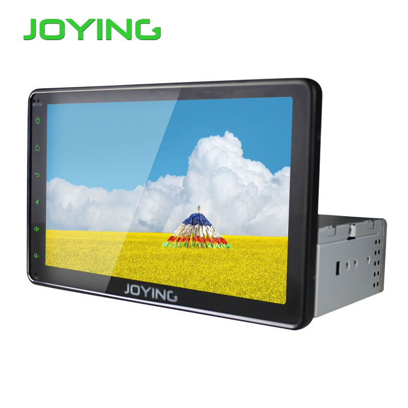 "Joying Universal 8"" Android 4.4 AutoRadio Stereo Single 1 Din Car Multimedia Player1024*600 Capacitive GPS Car Radio Head Unit"