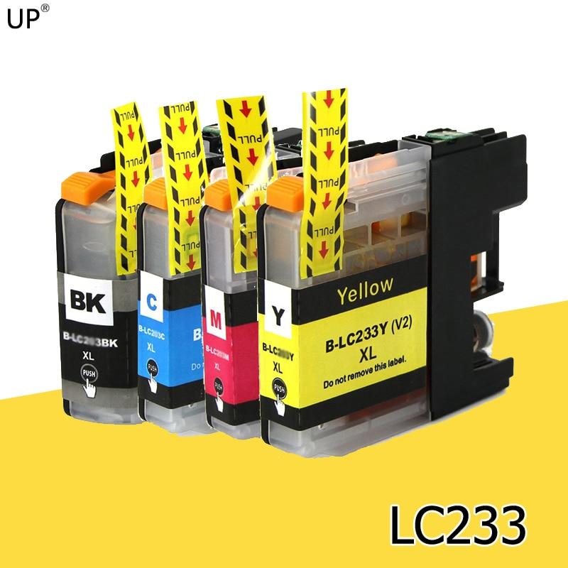 LC233 BK/C/M/Y полная совместимость чернильный картридж для принтера brother DCP-J562DW MFC-J480DW MFC-J680DW MFC-J880DW DCP-J4120DW MFC-J4620DW