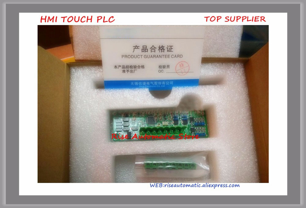 New Original Programmable Controller XC-4AD-BD 14Bit 4AI BD board plc expansion modules new original programmable controller module input 4 channels 0 10v 0 5v ai 14 bit xp 4ad bd