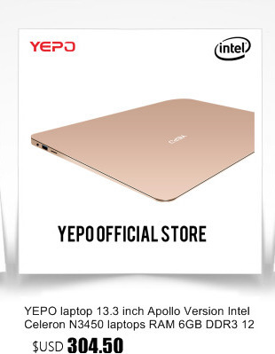 YEPO Notebook Computer 15.6 inch 8GB RAM DDR4 256GB/512GB SSD 1TB HDD intel J3455 Quad Core Laptops With FHD Display Ultrabook 36