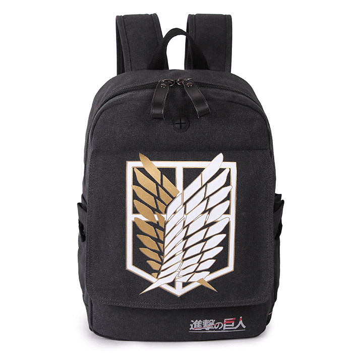 Anime Shingeki no Kyojin Attack on Titan Cosplay Cloth Shoulder Bag Backpack Bags For School Purse Gifts