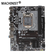 H61 H61M-S1 LGA 1155 desktop motherboard support socket LGA1155 DDR3 Mico-ATX For Intel i3/i5/i7 Integrated Graphics Mainboard for msi p43 c53 h original used desktop motherboard for intel p43 socket lga 775 ddr3 16g atx